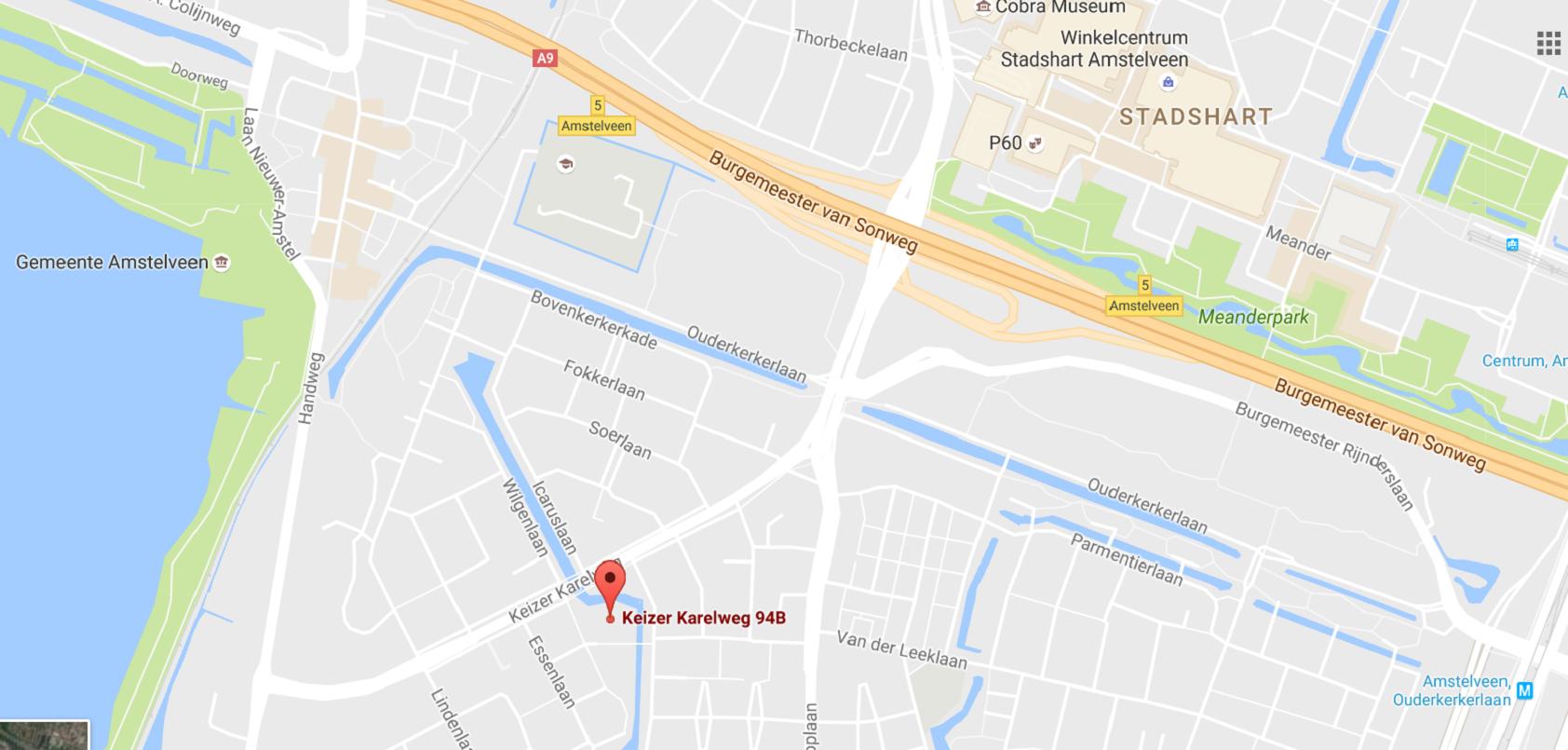 Locatie Kinder Musical Academie, musicallessen, op Google Maps